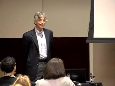 Ronald D. Siegel presenting