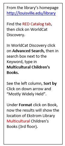 Catalog children's lit directions