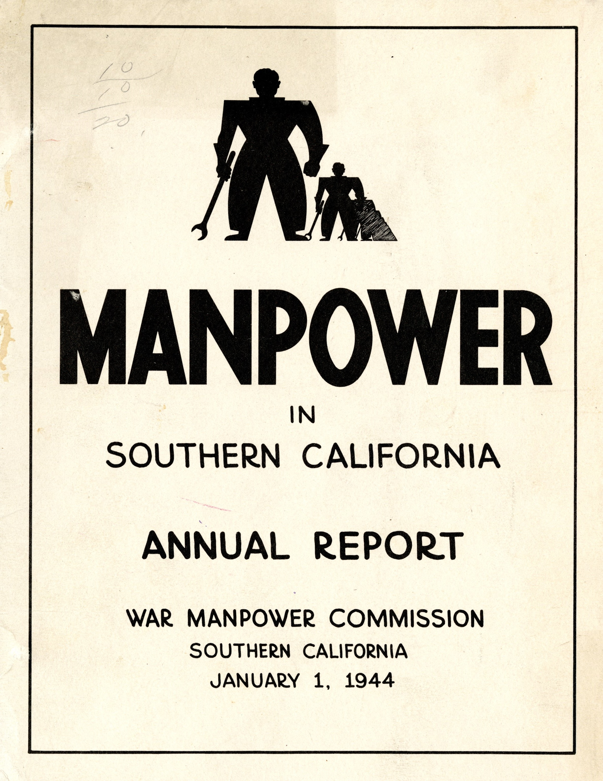 Manpower in Southern California Annual Report