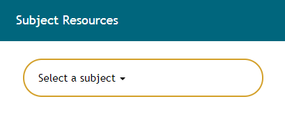 Subject Resources Select a subject box