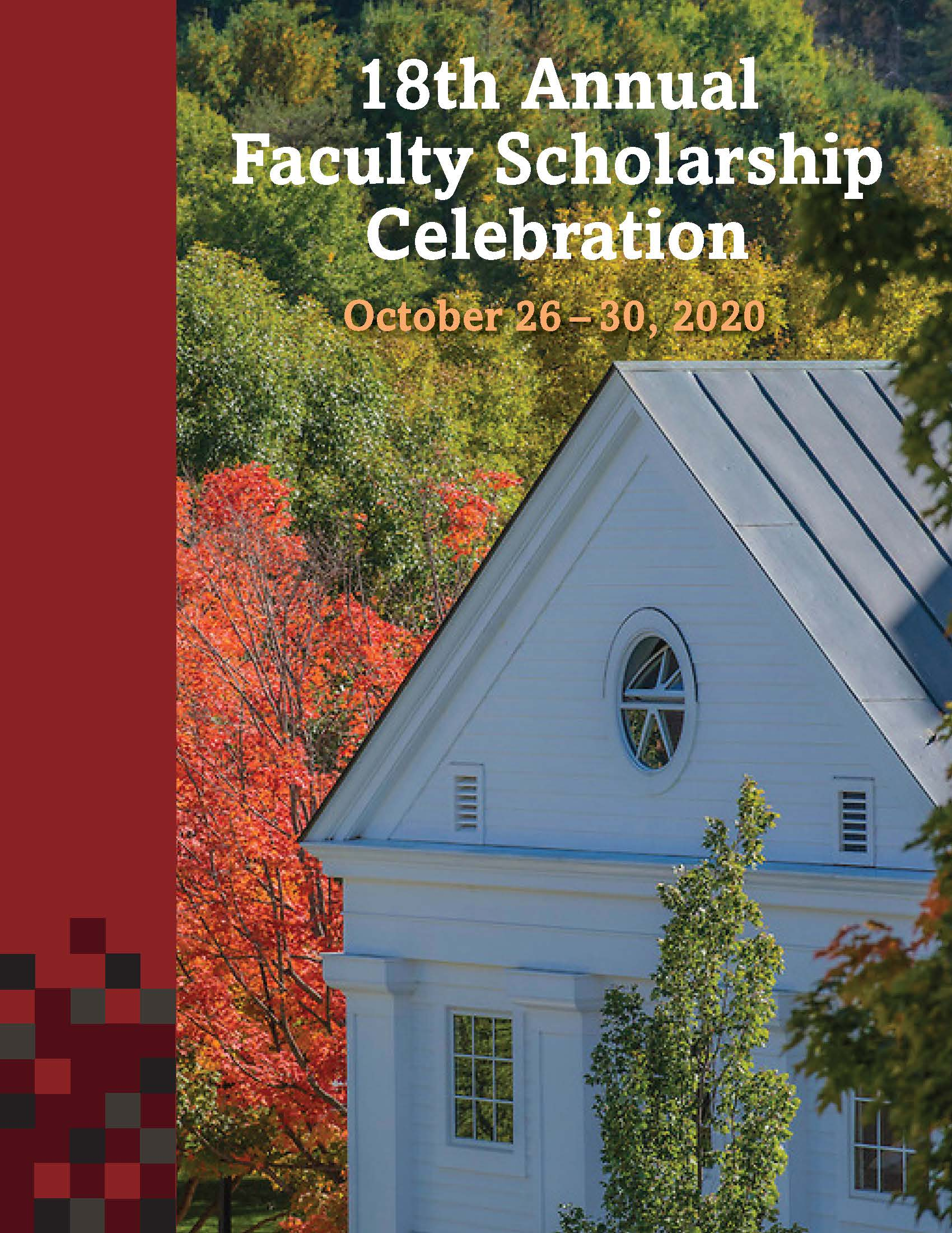 18th Annual Faculty Scholarship Celebration