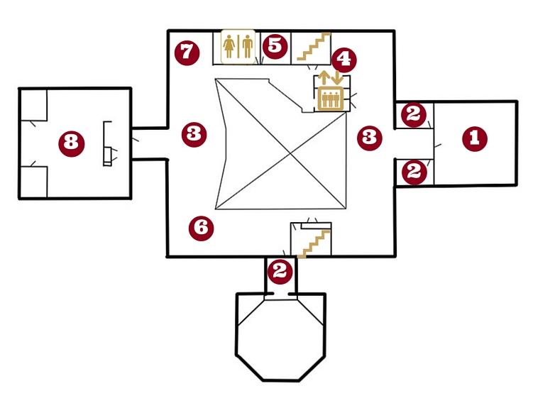 Mezzanine map