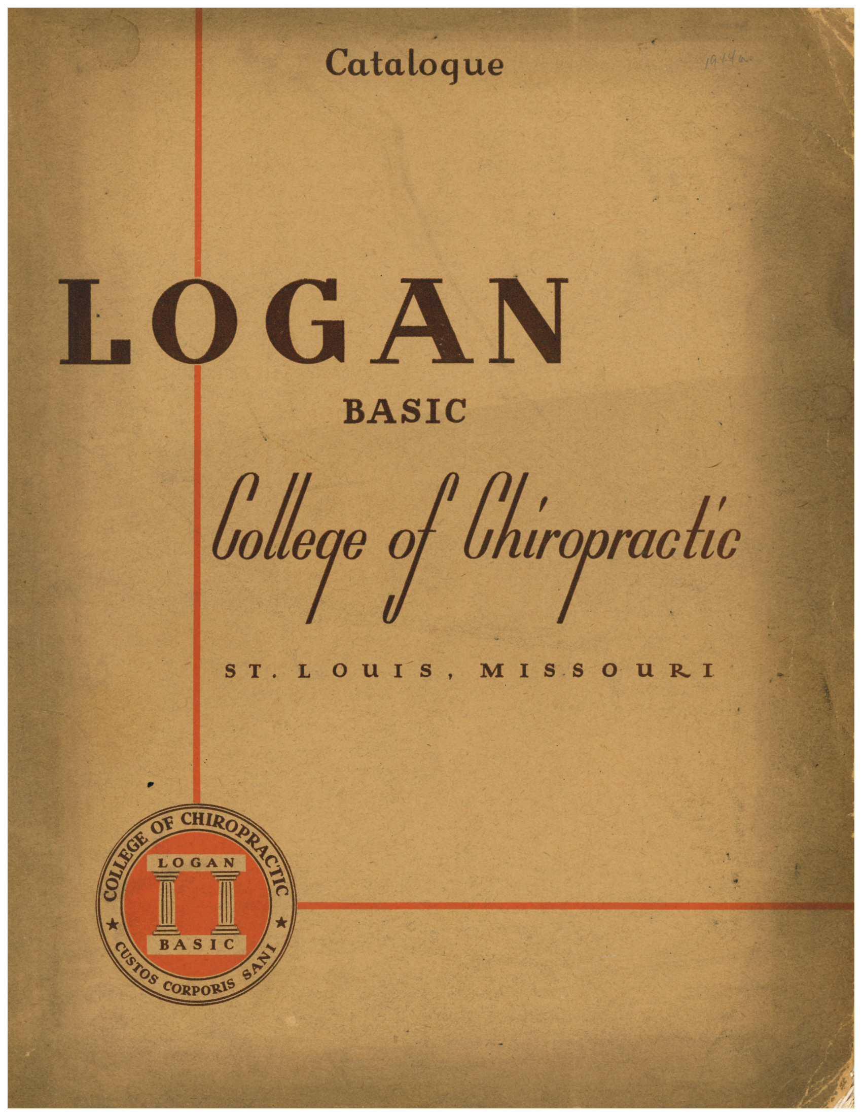 1944 Catalogue cover