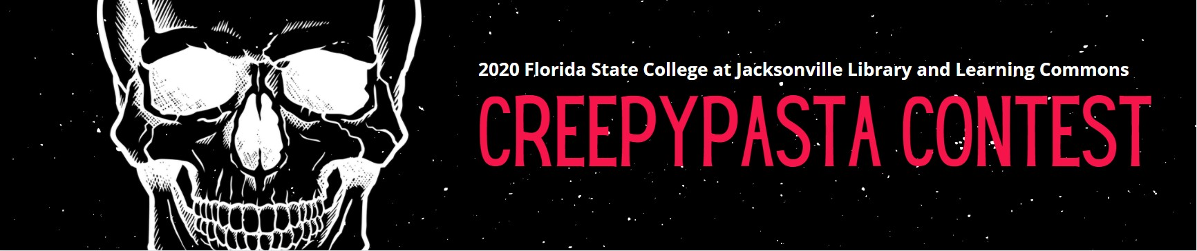 2020 FSCJ Library and Learning Commons Creepy Pasta Contest