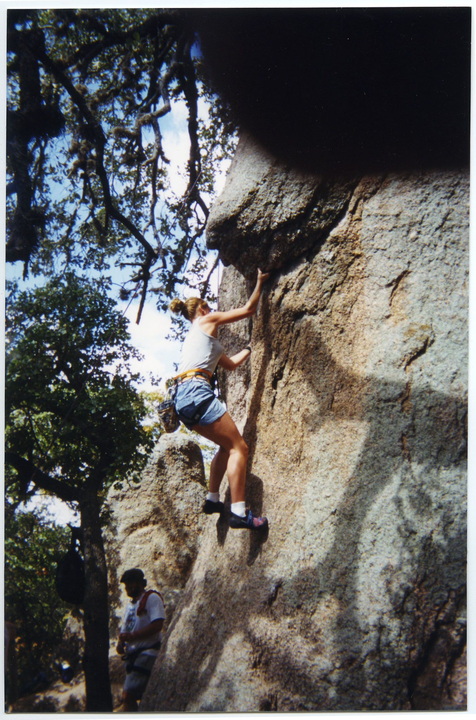 Rock Climbing, 1990