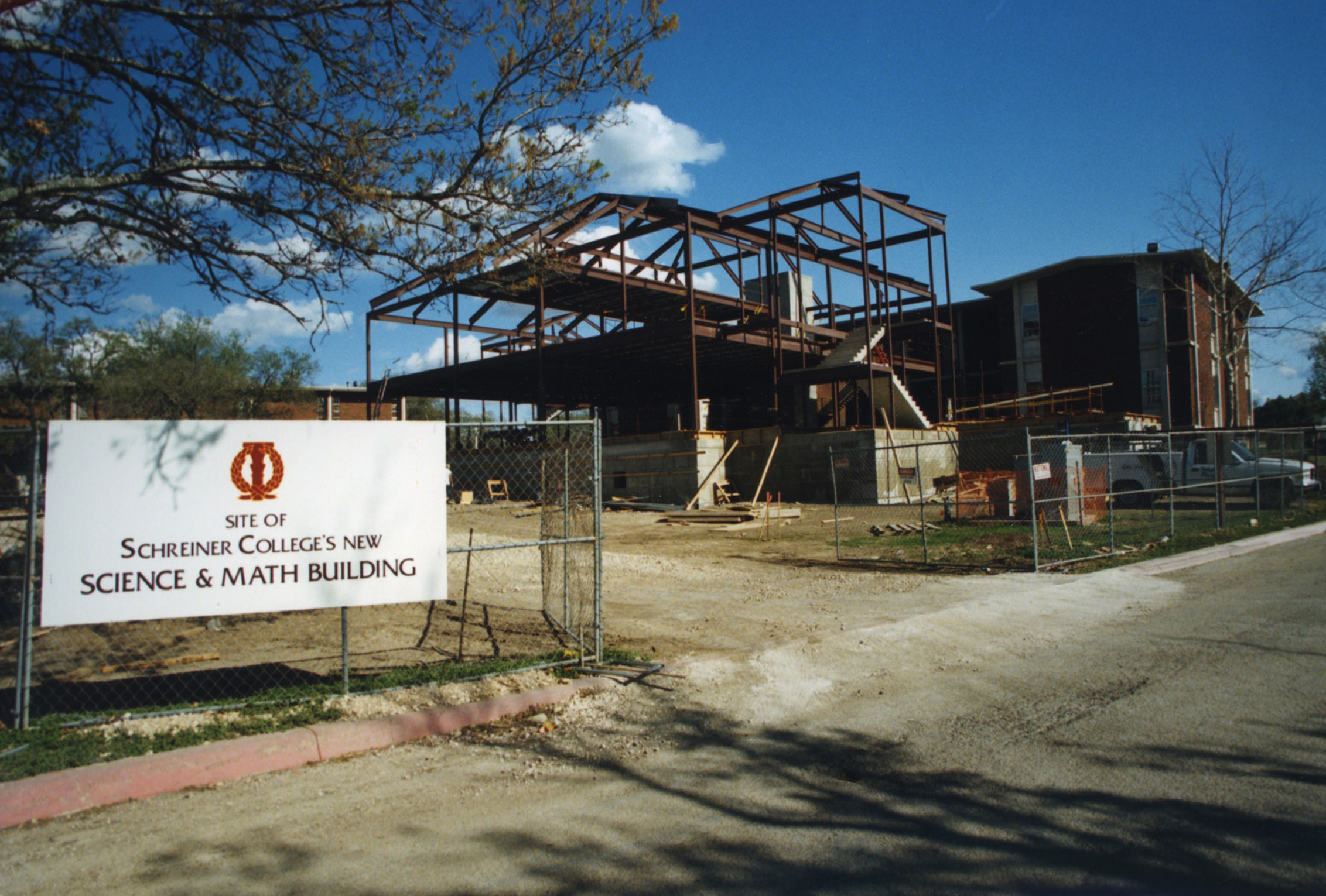 Construction of Trull Math and Science Building