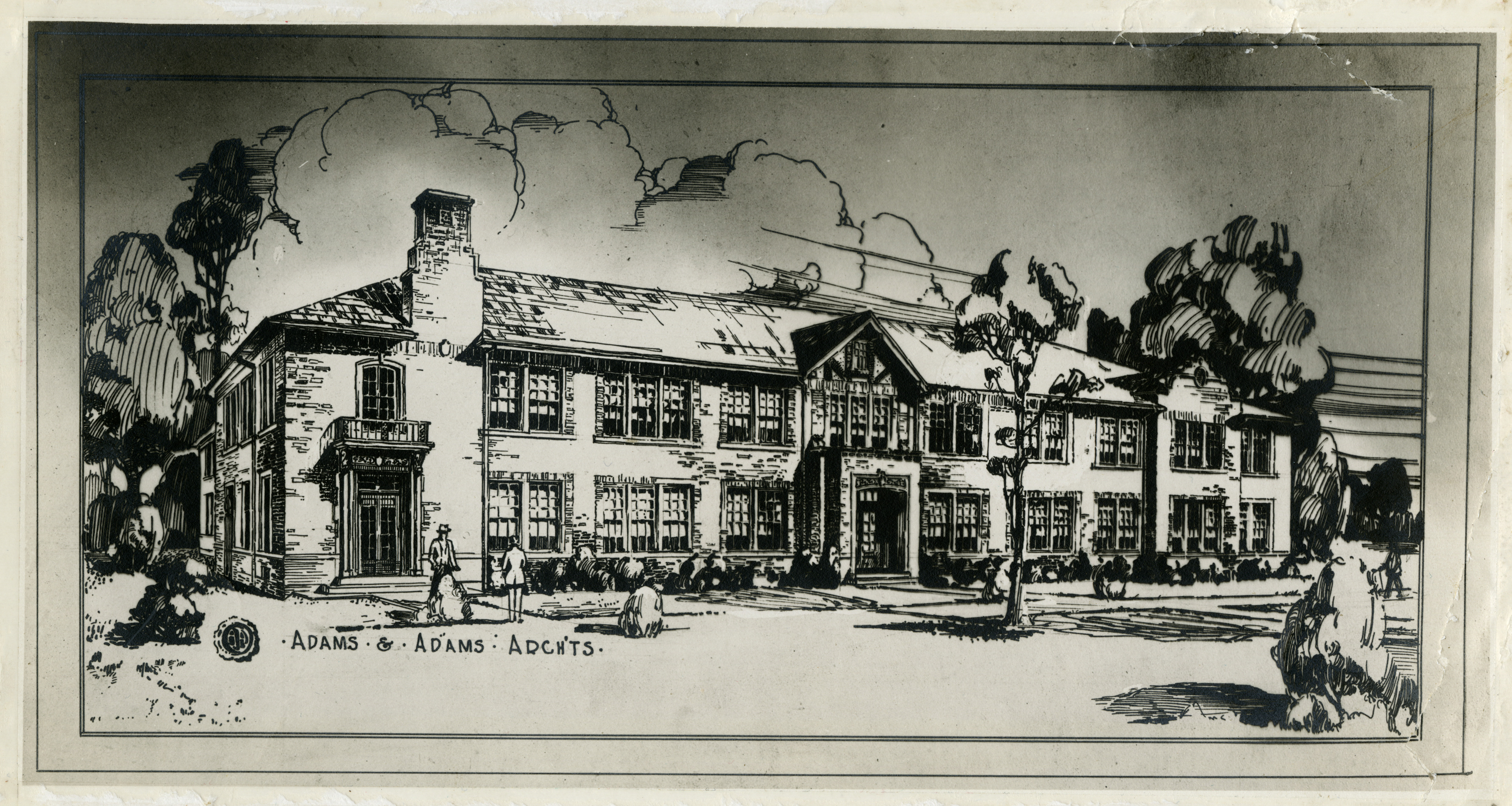 Architectural Drawing Adams