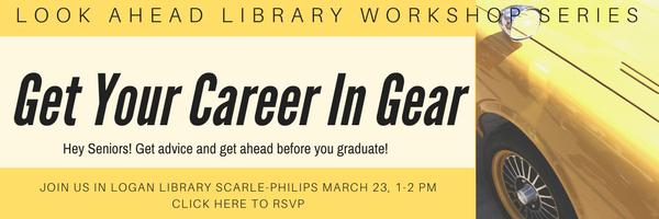 Look Ahead Library Workshop Series