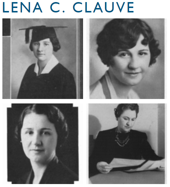 Images of Lena C. Clauve, Dean of Women at the University of New Mexico, 1929 to 1961