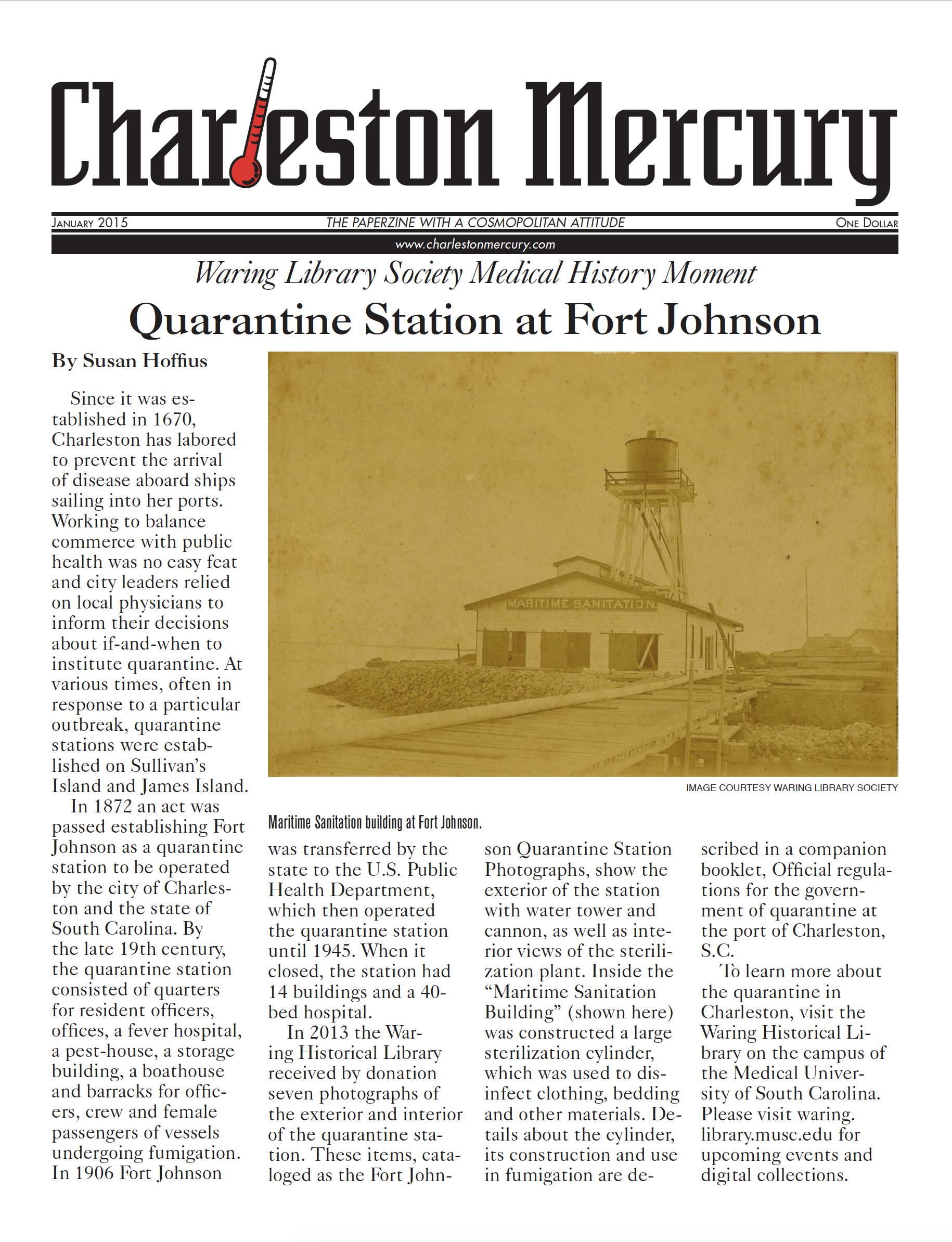 Charleston Mercury, January 2015