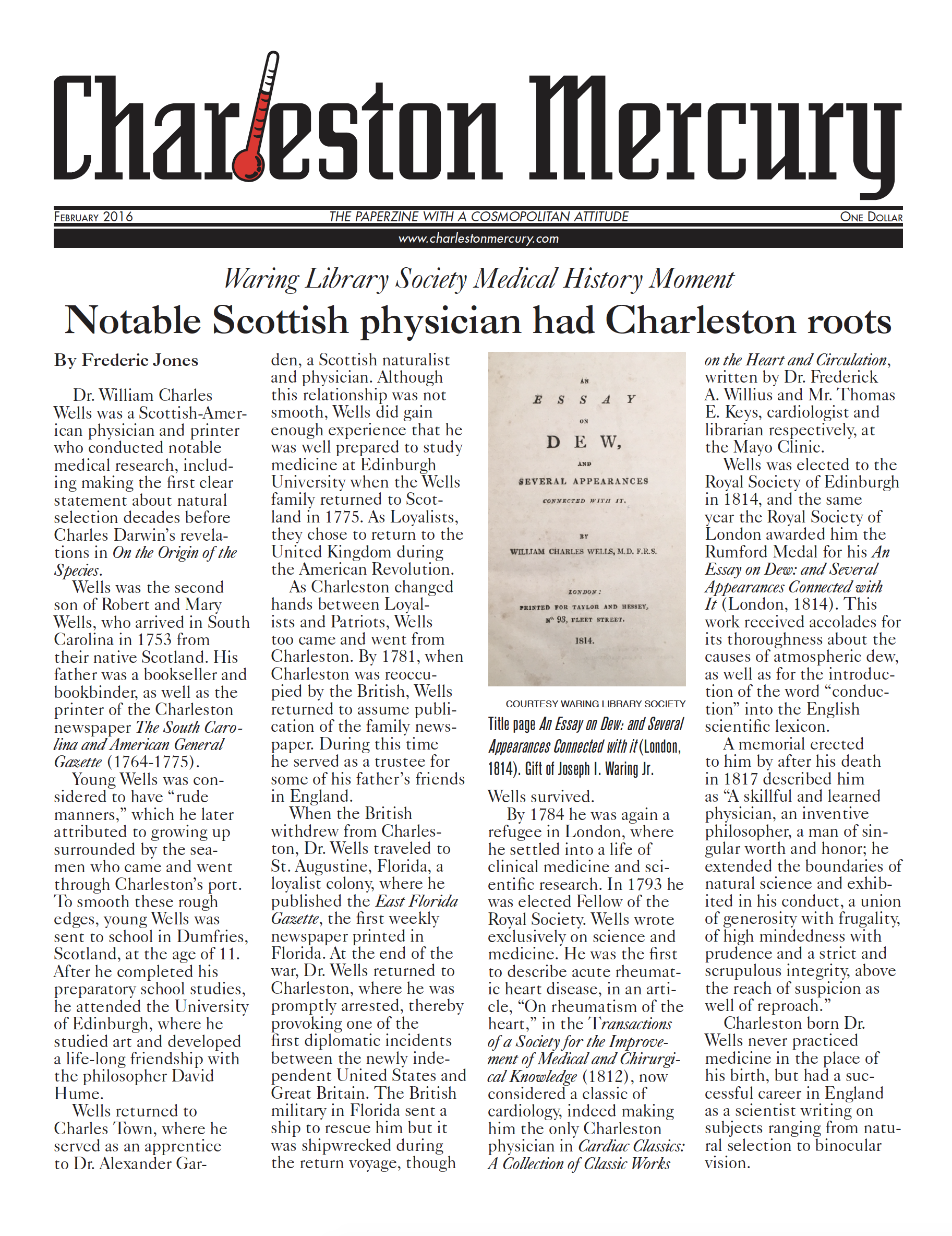 Charleston Mercury, February 2016