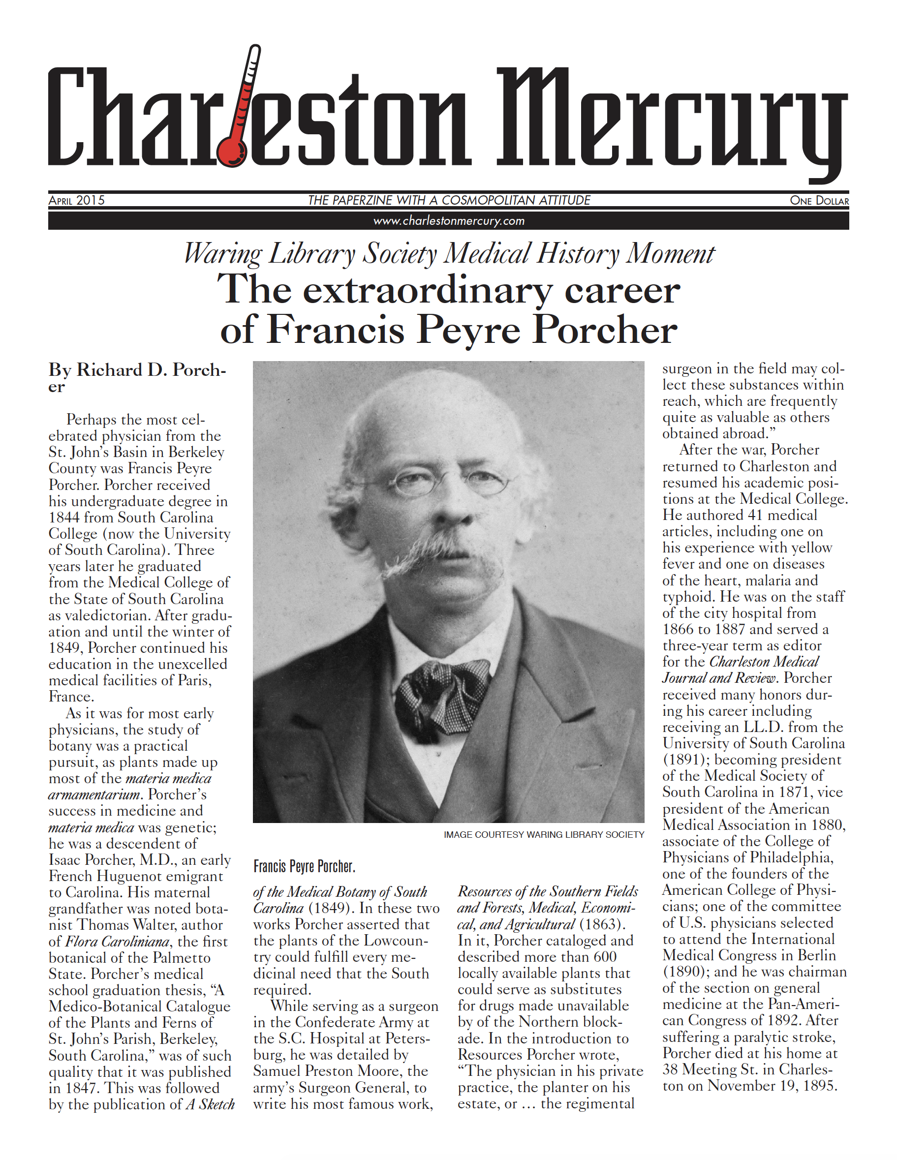 Charleston Mercury, April 2015