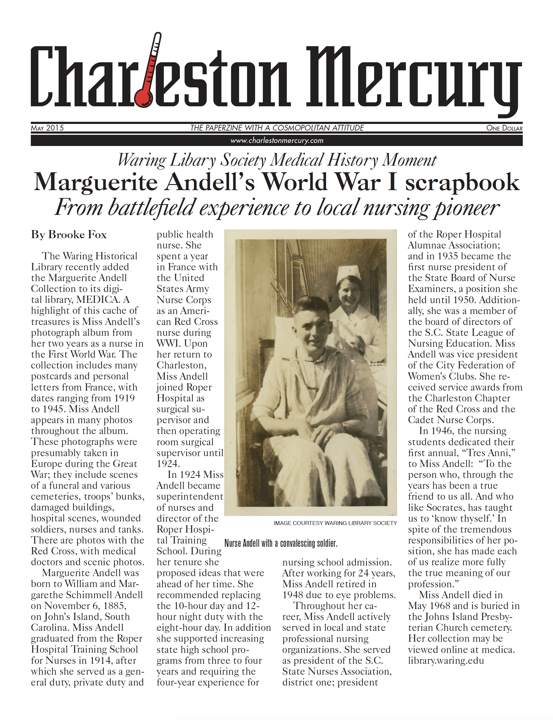 Charleston Mercury, May 2015