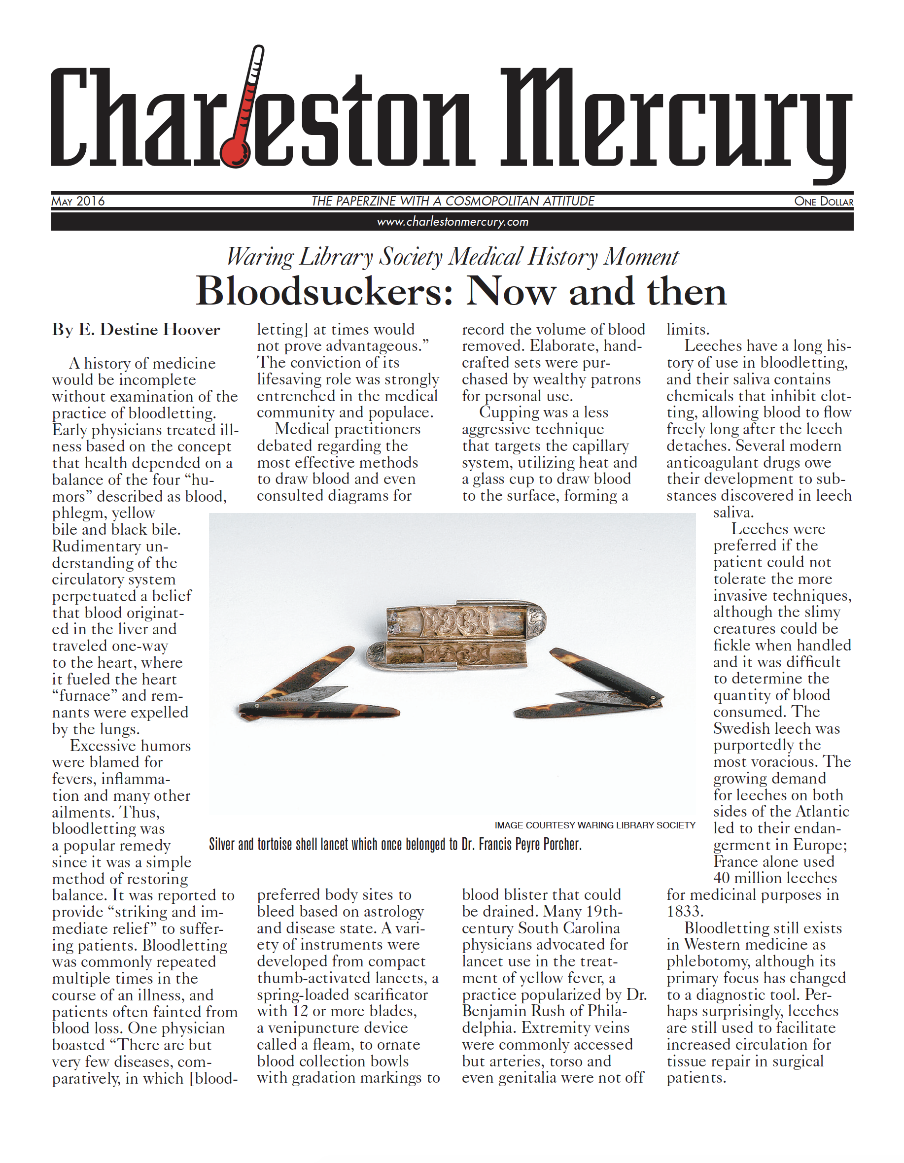 Charleston Mercury, May 2016