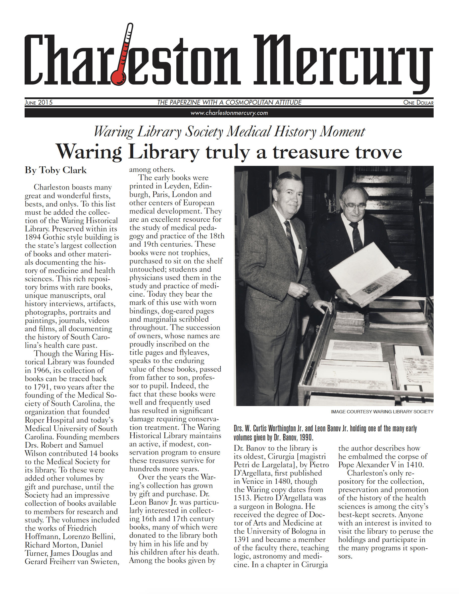 Charleston Mercury, June 2015