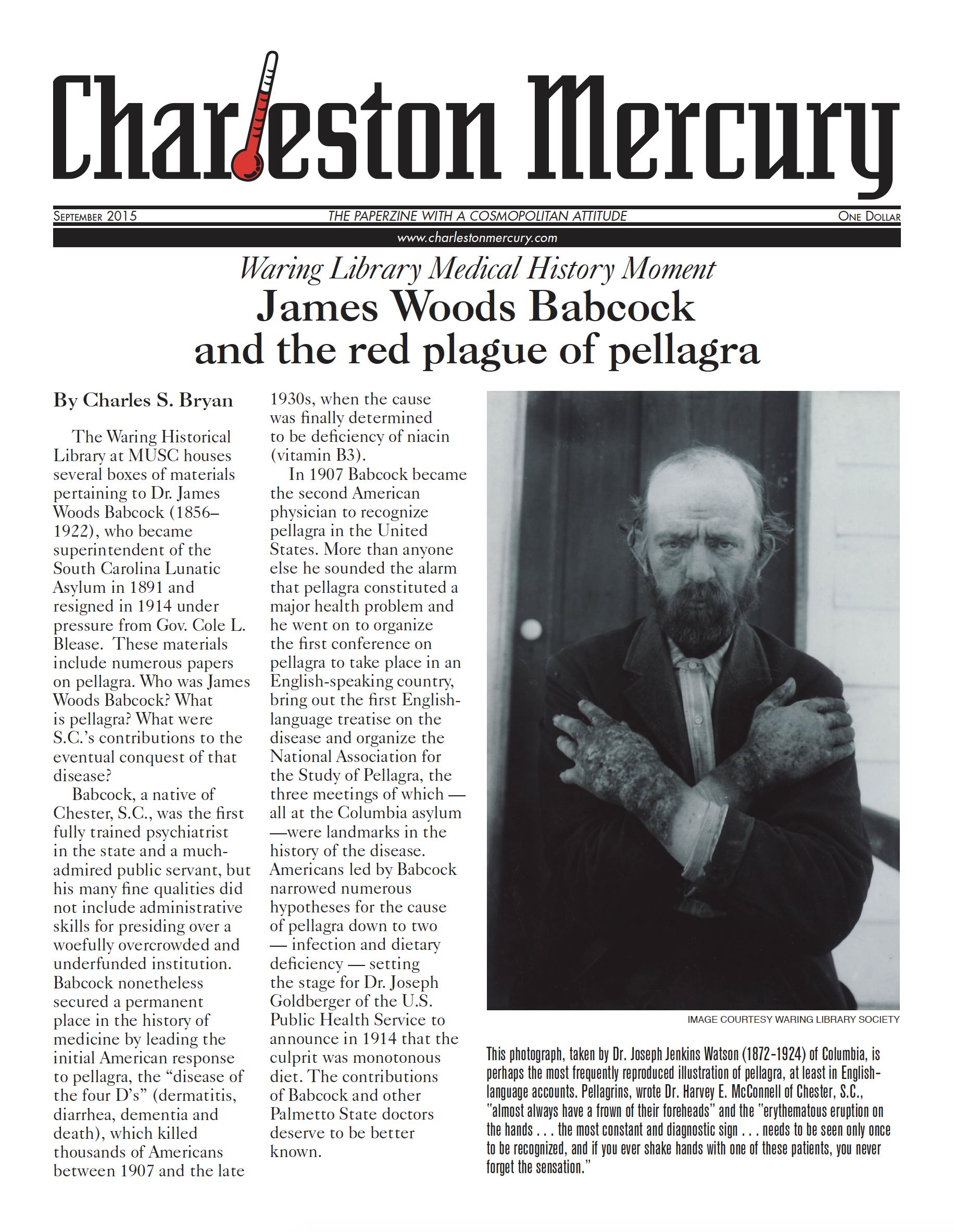 Charleston Mercury, September 2015