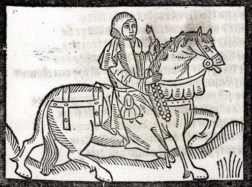 illustration from Canterbury Tales