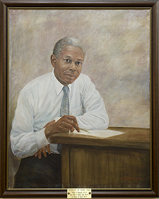 portrait of Charles R. Ross MD by Brian O'Toole Makepeace (1992)