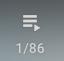 Youtube's playlist menu