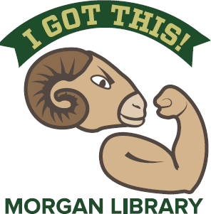 "Image of a ram with the text, ""I got this!"""