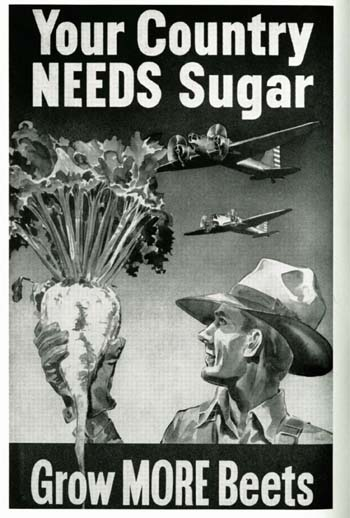 Your Country Needs Sugar, Grow More Beets, 1942