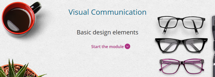 visual communications module homepage