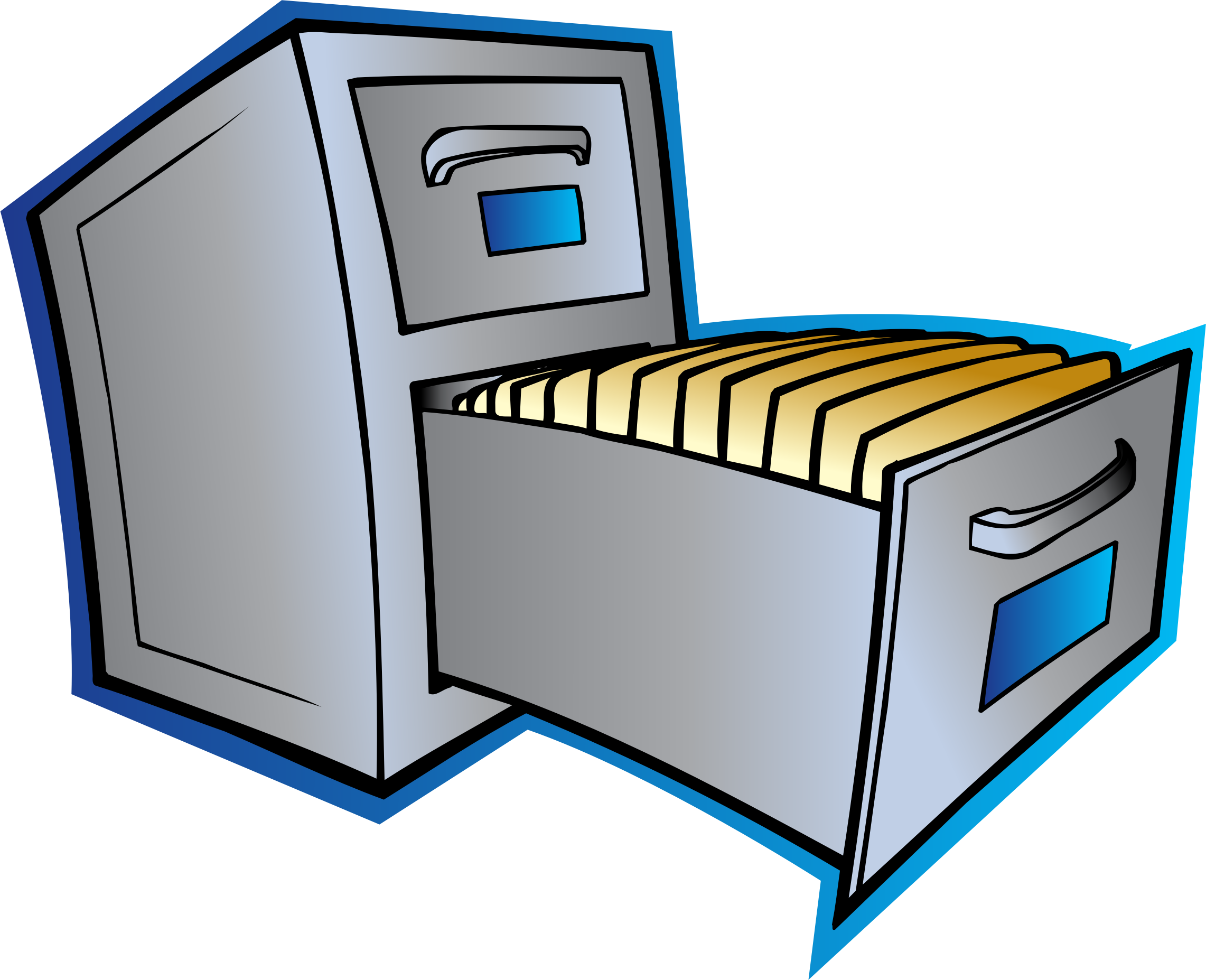 Image: Filing cabinet clipart