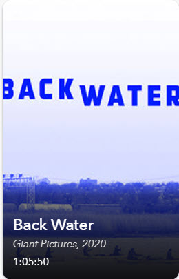 Film cover: Backwater