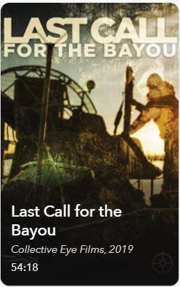 Film Cover: Last Call for the Bayou