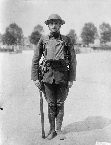 Image:  American soldier, World War I