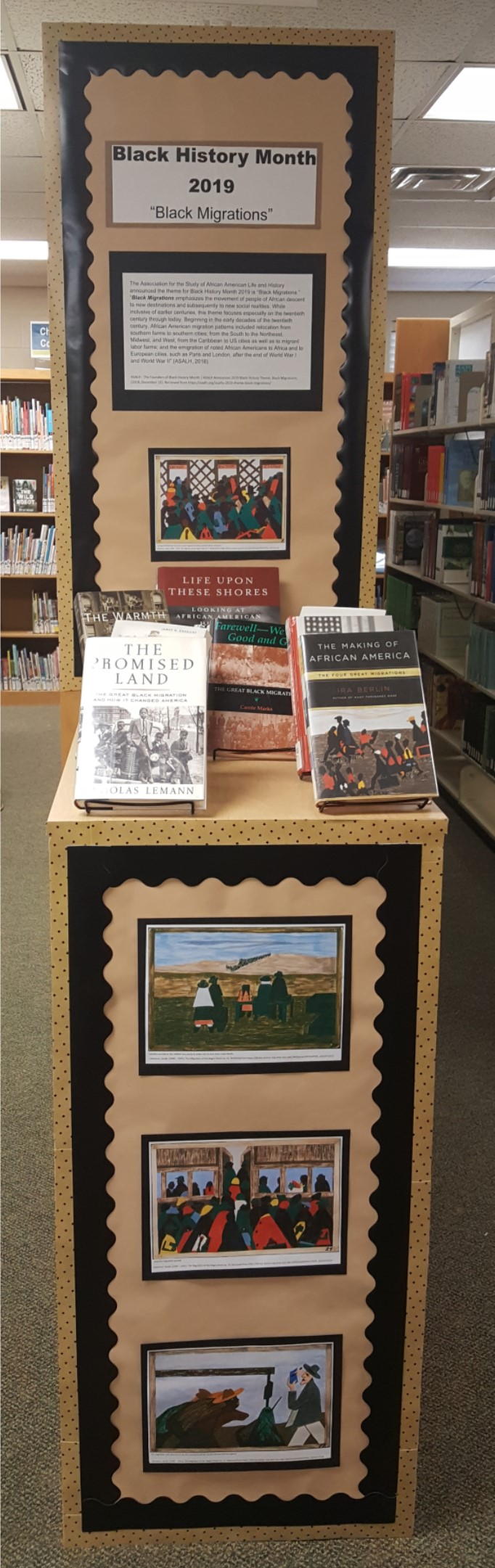 Image:  Display_Black History Month Feb. 2019