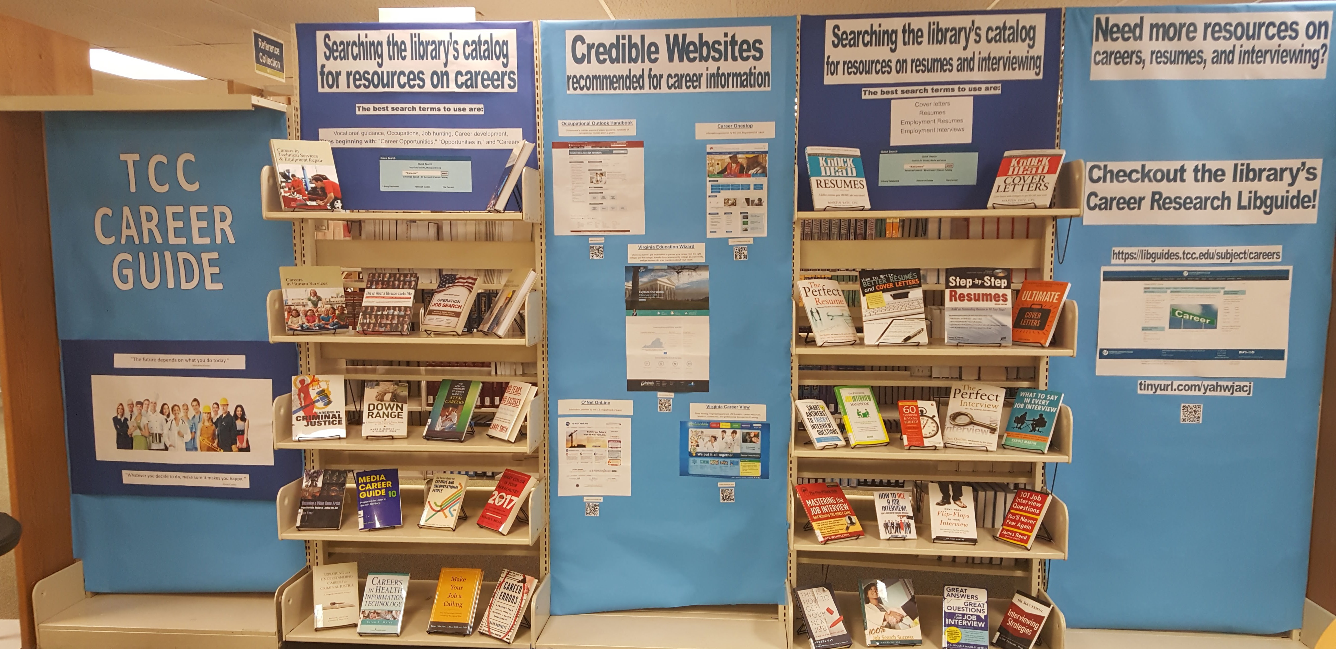 Display:  Career Resources