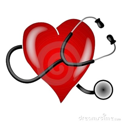 Image:  Heart with Stethoscope