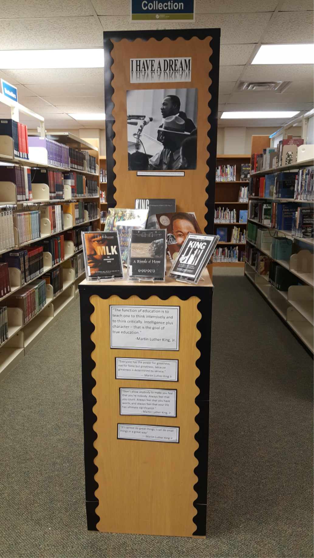 Martin Luther King Jr. Display, 2018