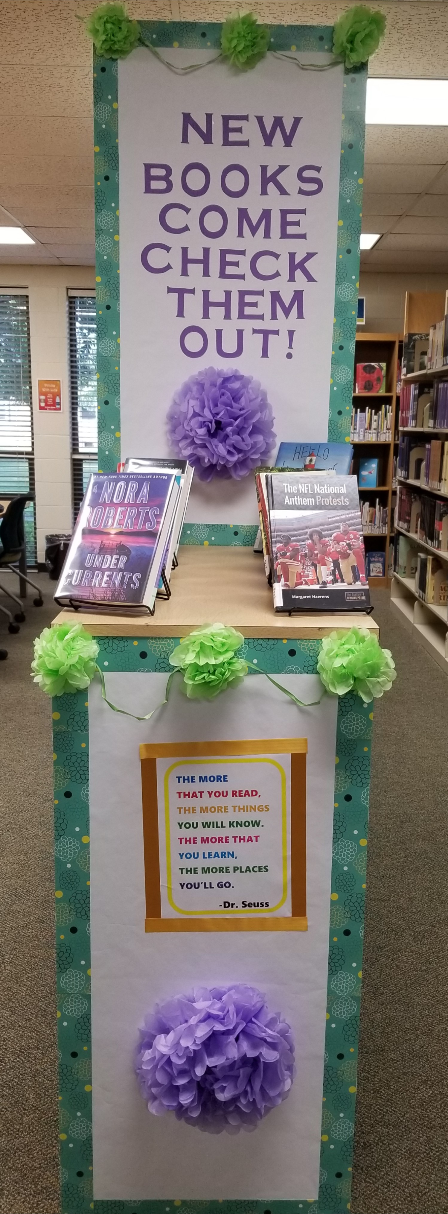 Library Display:  New Books, Summer 2019
