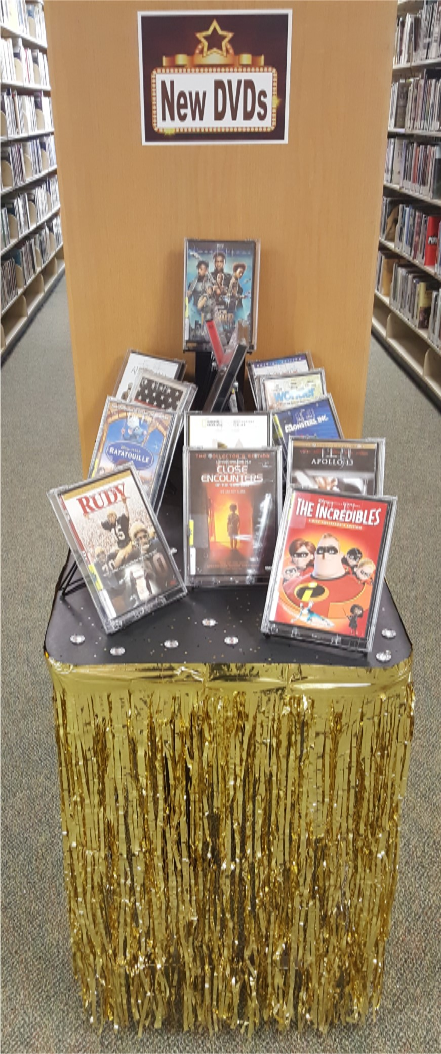 Image:  Display_New DVDs, 2.2019