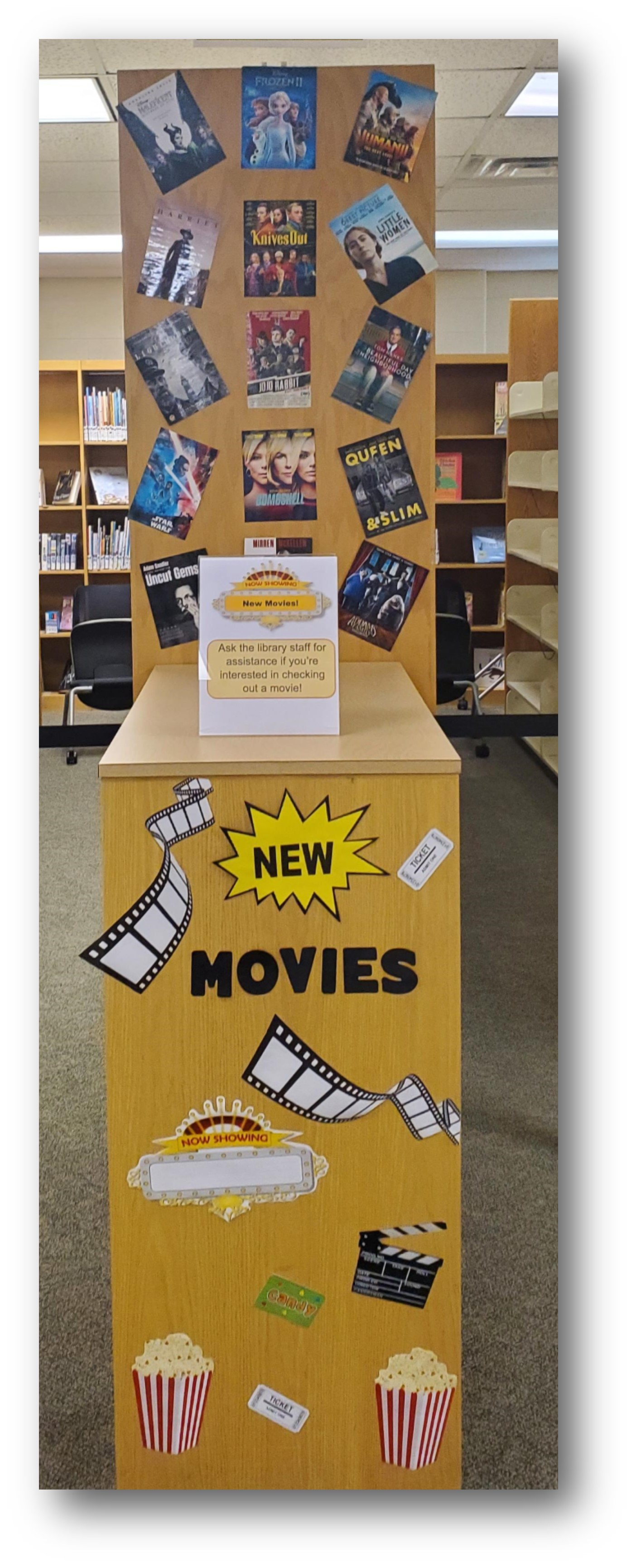 New Movie Display