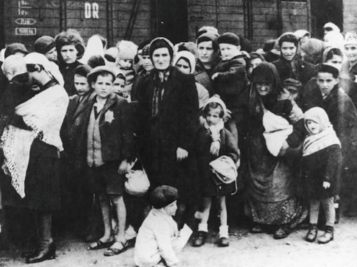 Image:  Victims of Auschwitz Transport