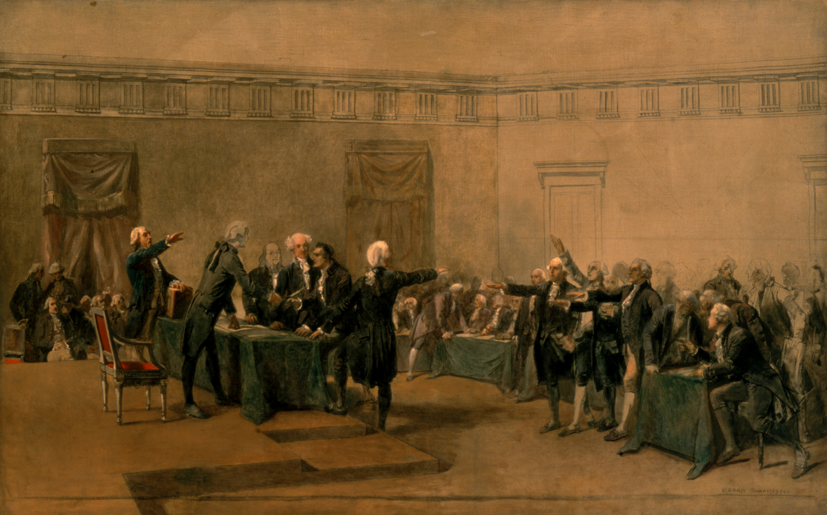 Image: Signing of Declaration of Independence