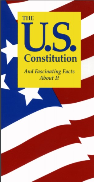 Image:  Book Cover, US Constitution and Fascinating Facts About It