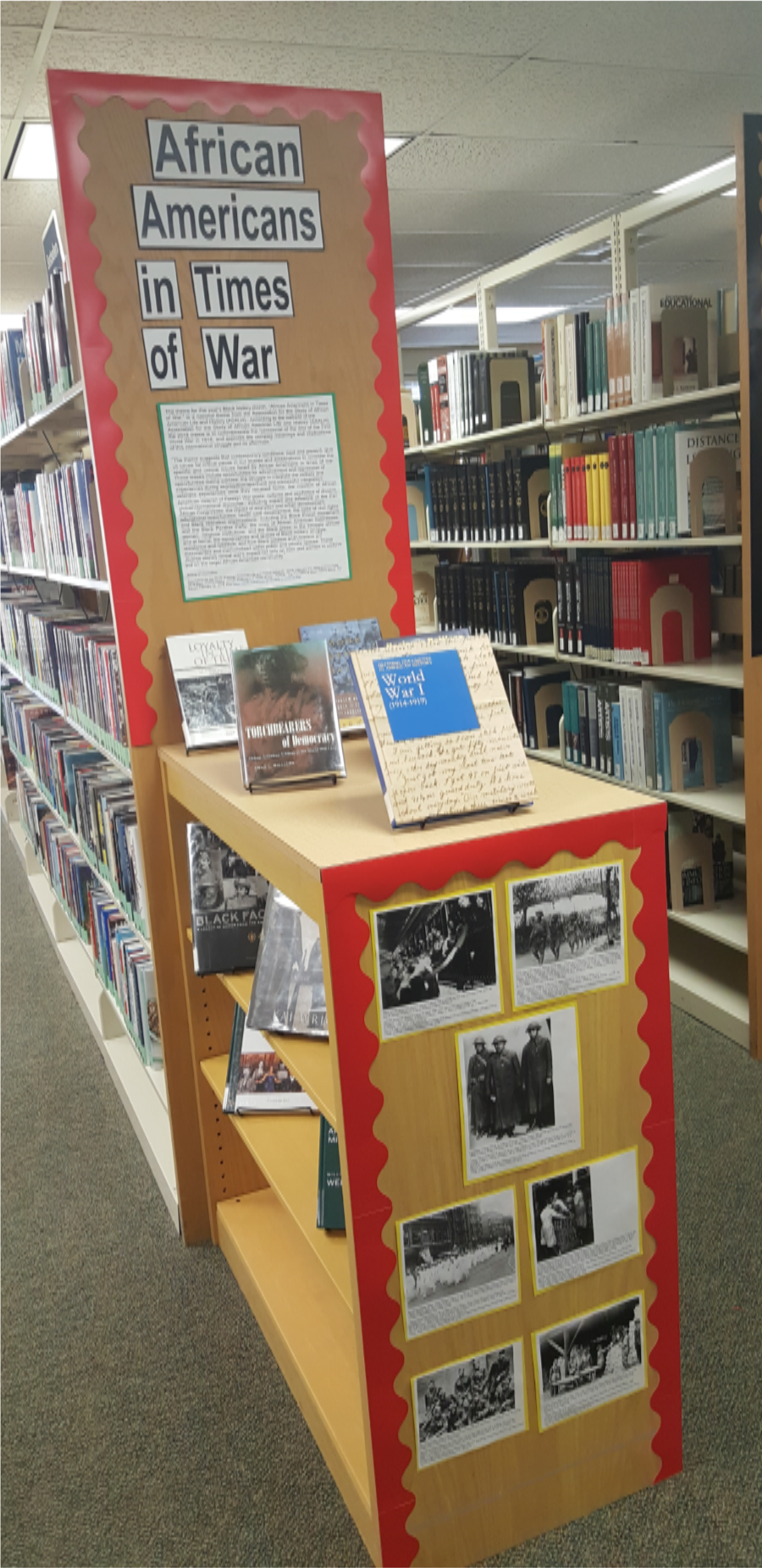 Black History Month Display, Feb. 2018