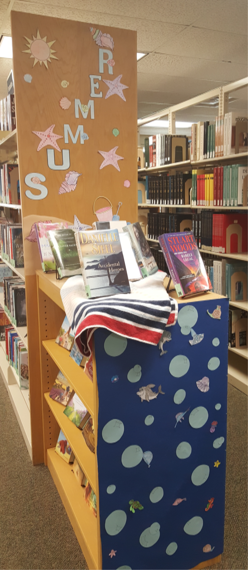 Image:  Summer 2018 Library Display