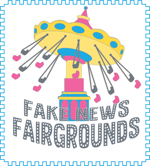 Fake News Fairgrounds Button