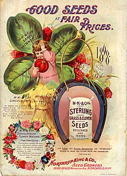 Northrup King and Co. Seed Catalog Cover
