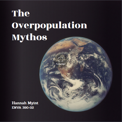 Digital flipbook: The Overpopulation Mythos