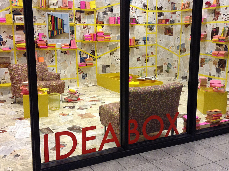 IdeaBox - blind date with a book