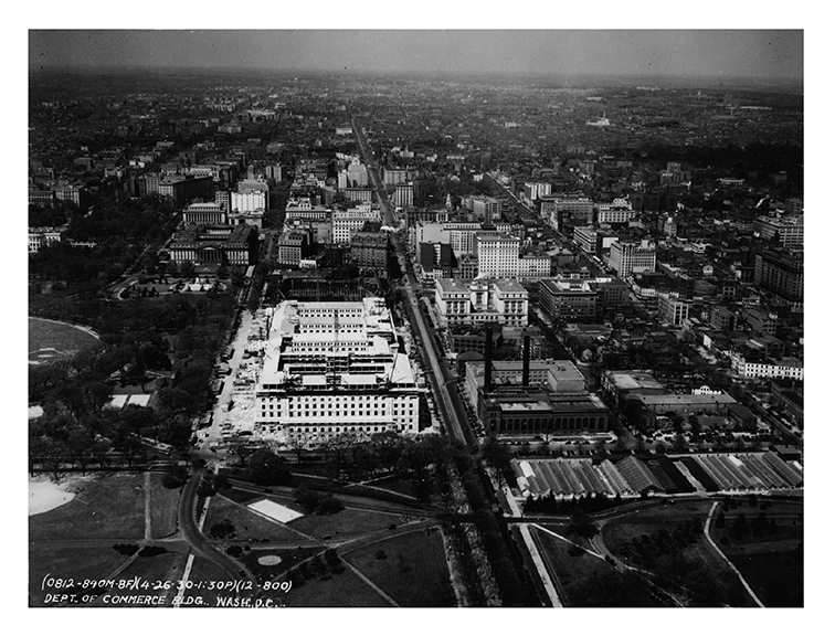 1930, Aerial view, north