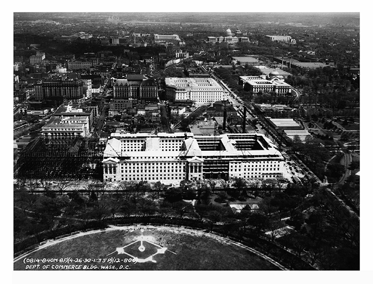1930, Aerial view, East