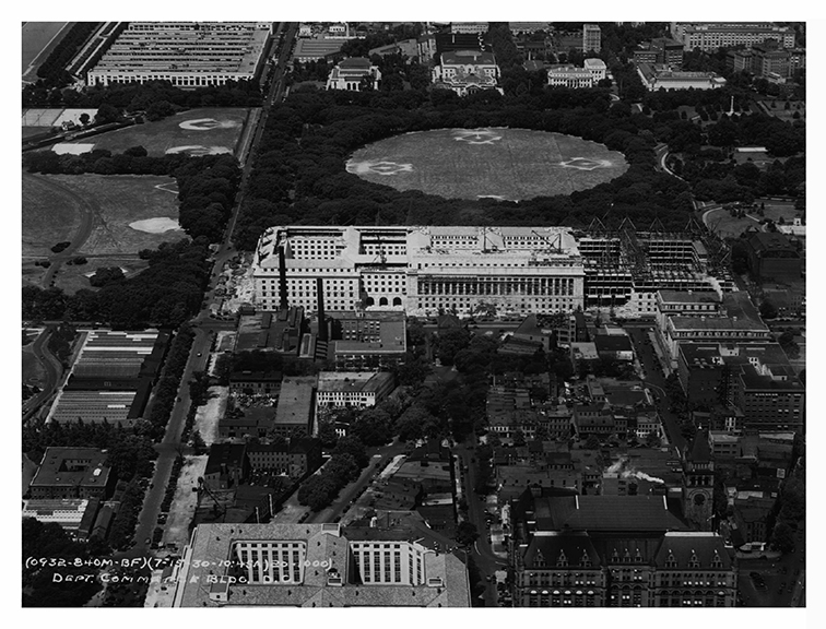1930, Aerial view, West