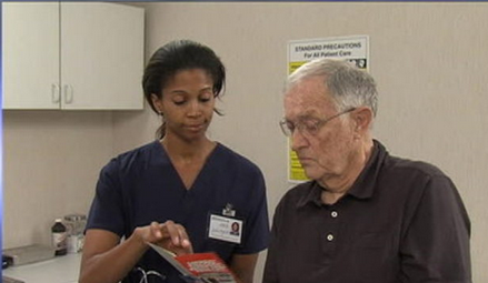 Nursing video image